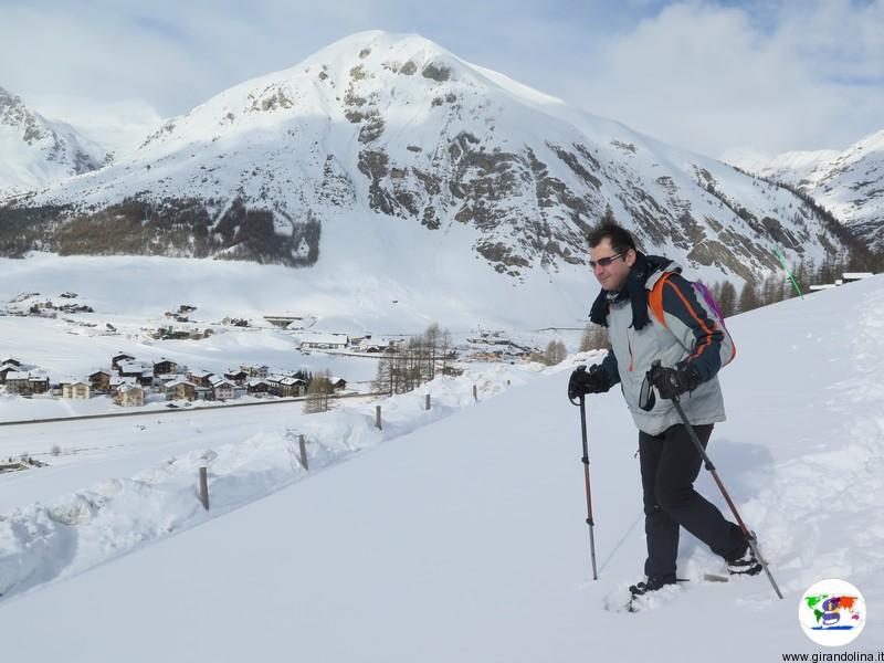 Livigno durante l'inverno, tutte le attività sportive che si possono fare: le ciaspole