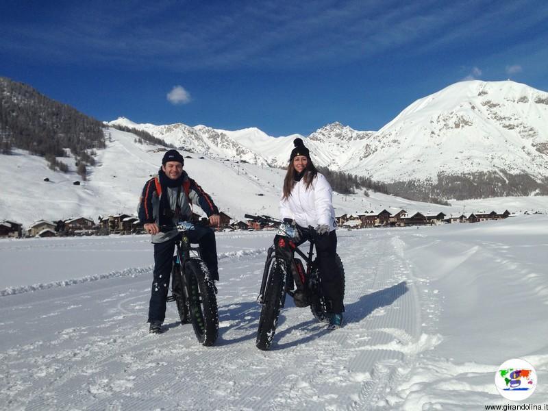Livigno durante l'inverno, tutte le attività sportive che si possono fare: la Fat Bike
