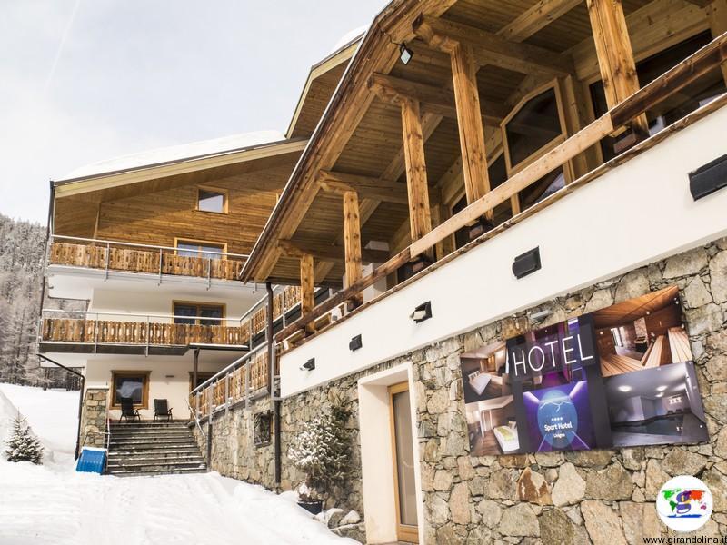 Dormire a Livigno- Sport Hotel Livigno la struttura