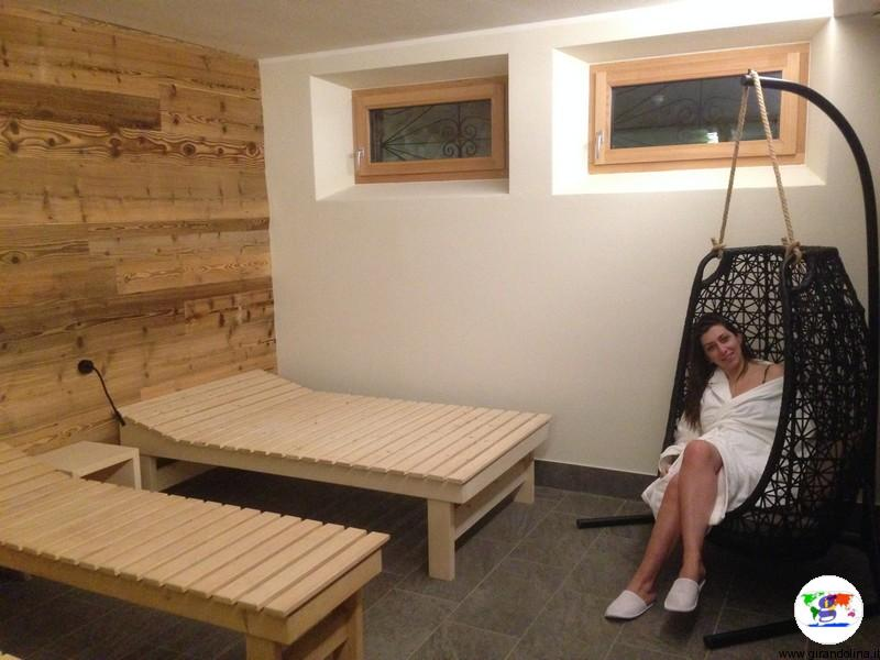 Dormire a Livigno- Sport Hotel Livigno la sala Relax del centro benessere