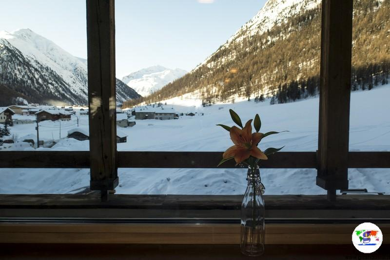 Dormire a Livigno- Sport Hotel Livigno il panorama della sala ristorante