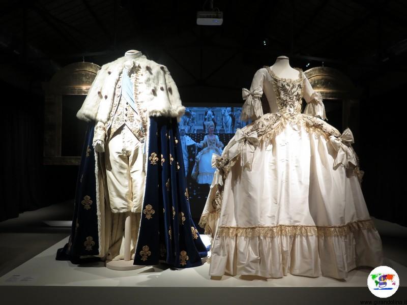 Maria Antonietta la mostra a Prato, gli abiti da sposi