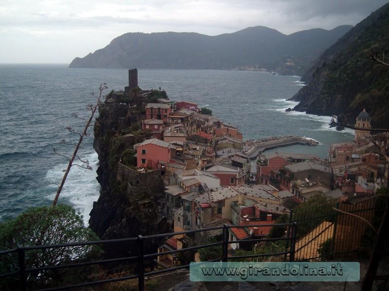 Vernazza dal sentiero per Corniglia Cinque Terre