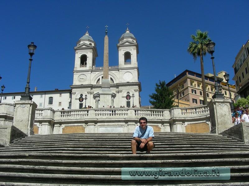 Roma - La Scalinata di Trinità dei Monti