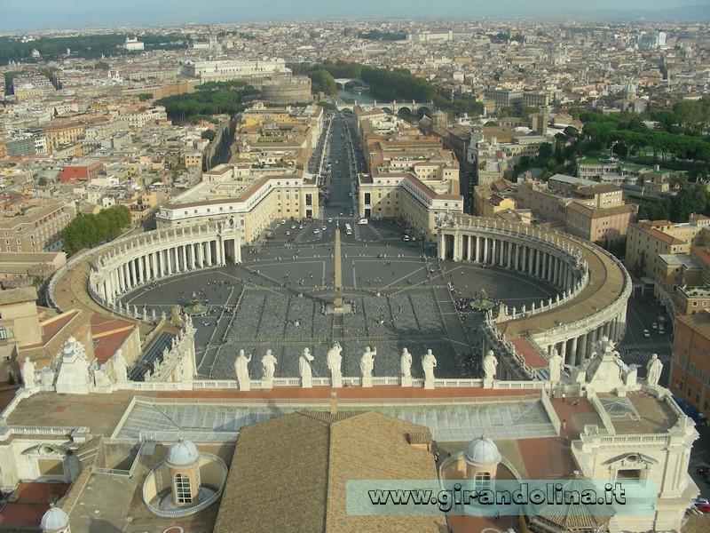 Panorama dalla Cupola di San Pietro