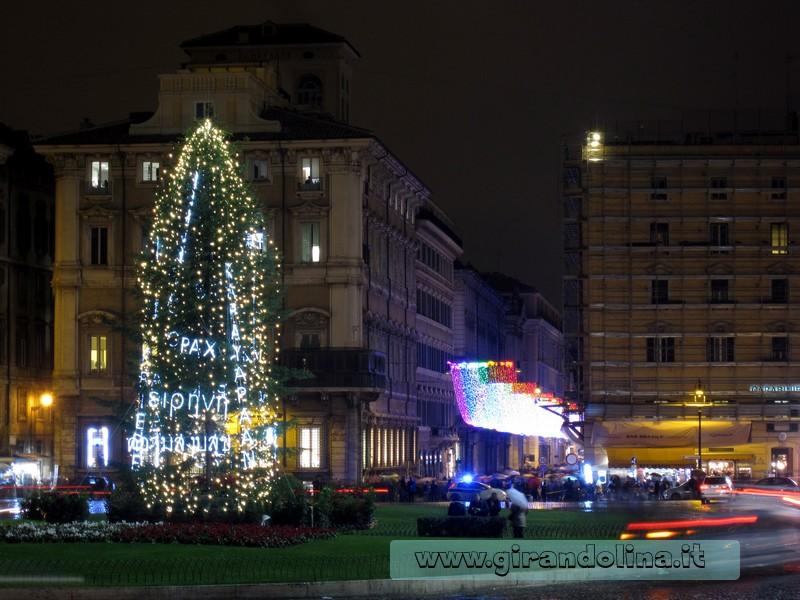L' Albero di Natale della Pace, in Piazza Venezia