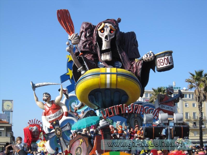 I carri del Carnevale di Viareggio