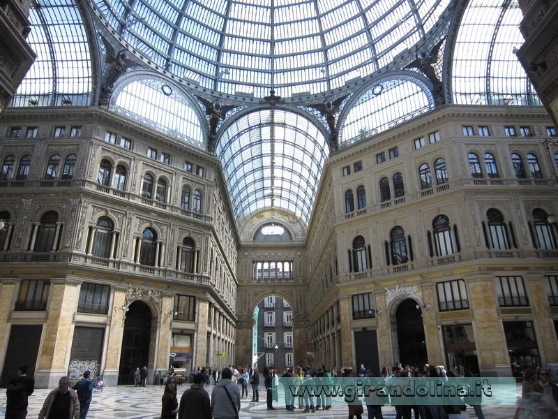 Galleria Vittorio Emanuele Primo Napoli