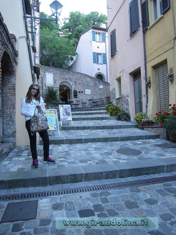 Tour della Romagna - Girandolina nei vicoli di Sant' Arcangelo di Romagna