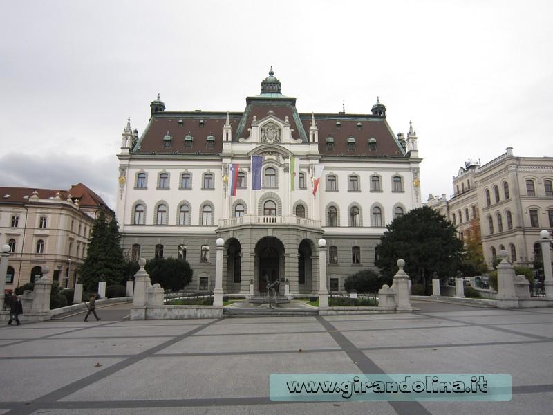 L' Università di Lubiana- Slovenia