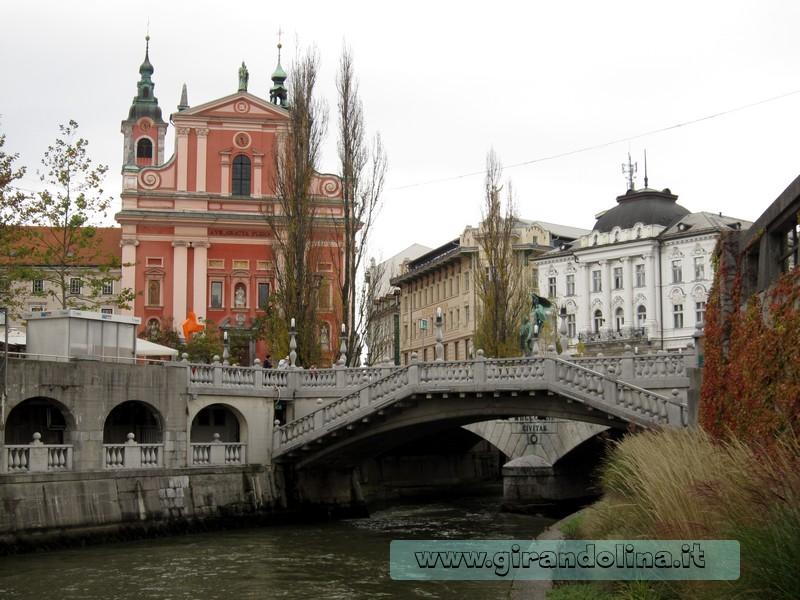 Il Triplice Ponte, Lubiana Slovenia