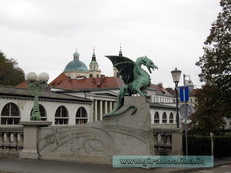 Il Ponte dei Draghi Lubiana Slovenia