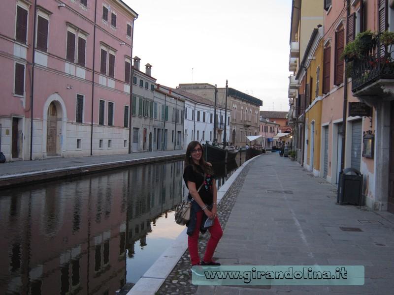 Girandolina nei canali di Comacchio