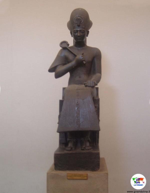 Il Museo Egizio di Torino, la statua di Ramses II