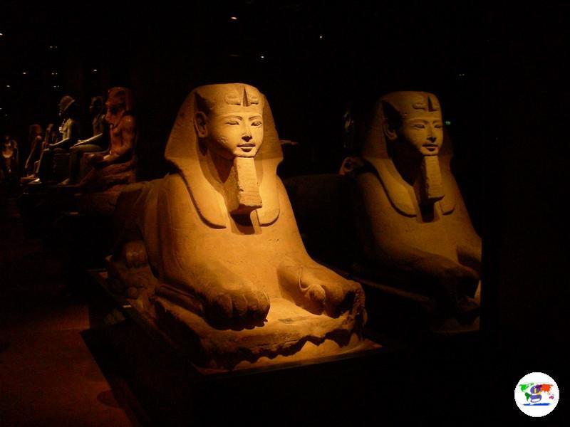 Il Museo Egizio di Torino,  dopo il restauro della sala dello Statuario del  2006