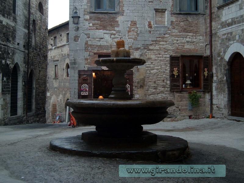La Fontana dei Matti di Gubbio