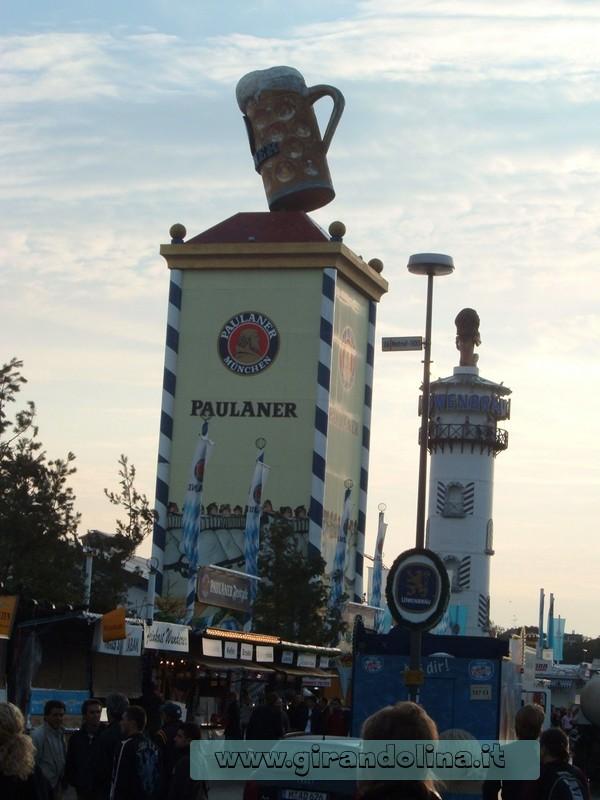 Oktoberfest- Gli stand delle varie birre