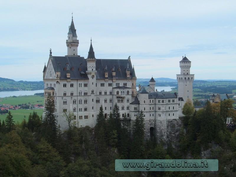 Schloss Neuschwainsten dal MarienBrucke