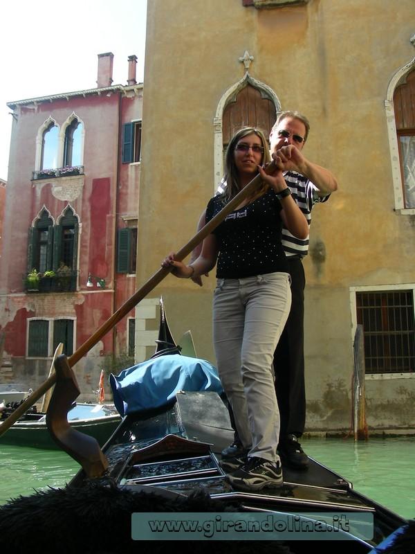 Venezia - Girandolina versione gondoliera