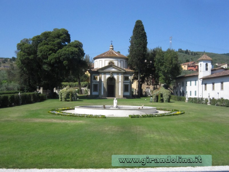 La Cappella Ellittica di Villa Rospigliosi