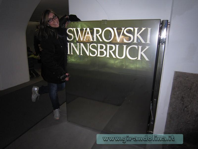 Una Girandolina nel negozio Swarovski più grande d 'Austria