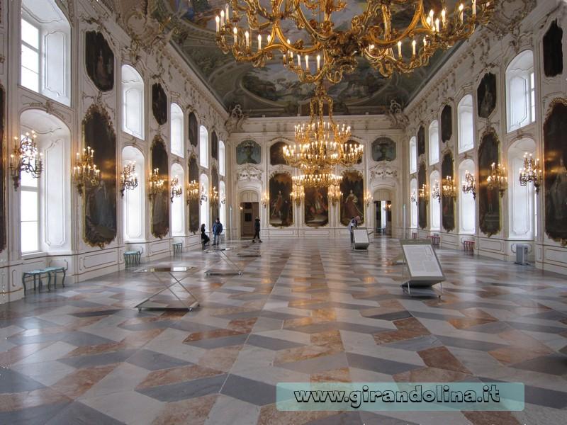 La Sala dei Giganti, all' interno del Palazzo Imperiale Hofburg
