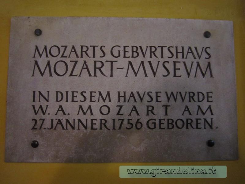 La Casa Natale di Mozart