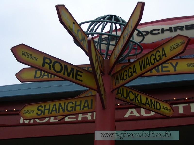Australia viaggio di nozze,le distanze fra Cairns e Roma