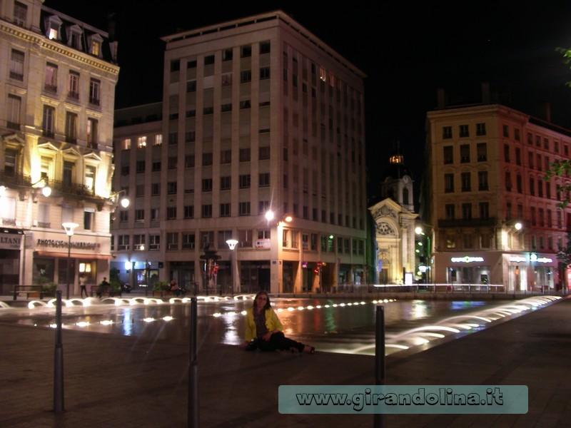 Girandolina nel centro storico di Lione