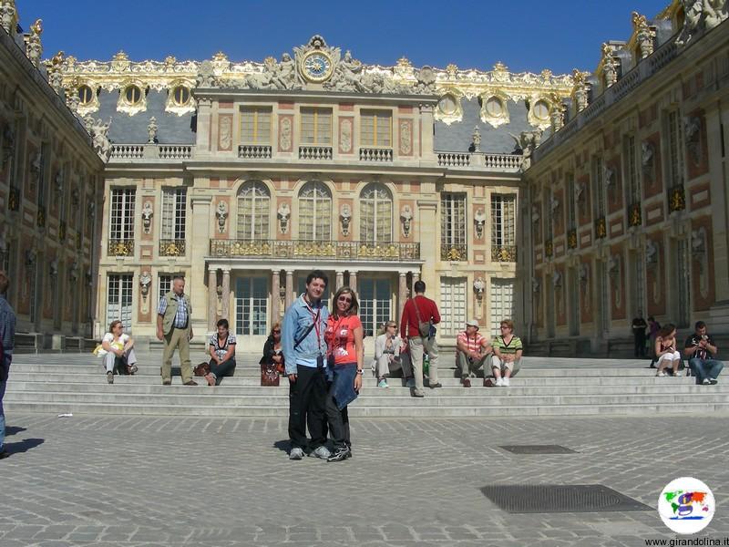 La Reggia di Versailles cortile interno