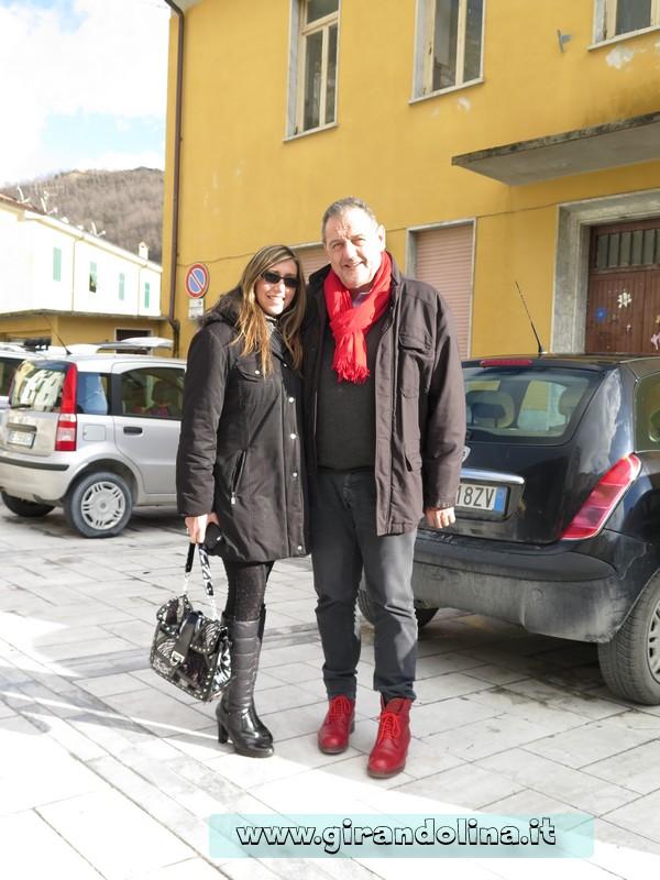 Girandolina e lo chef Giancarlo Vissani