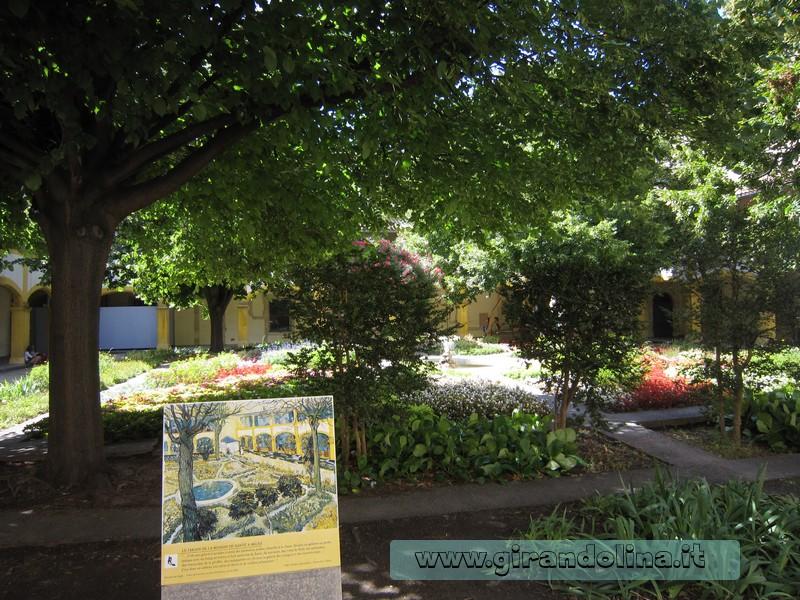 Camargue - Arles i giardini della Casa di Cura di Van Gogh