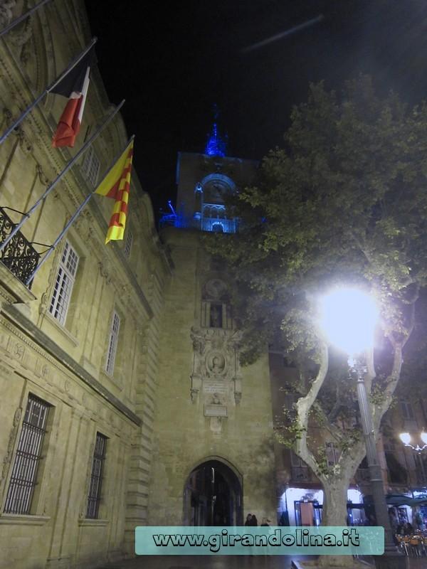 L 'antico Hotel de Ville di Aix En Provence ( il Municipio)
