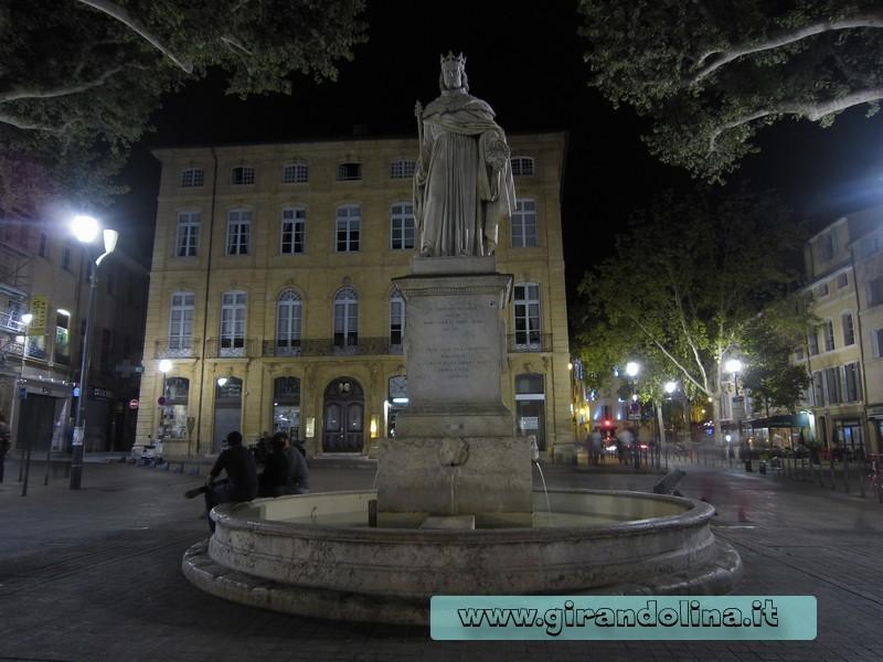 La Fontana del Re Roinè di Aix En Provence