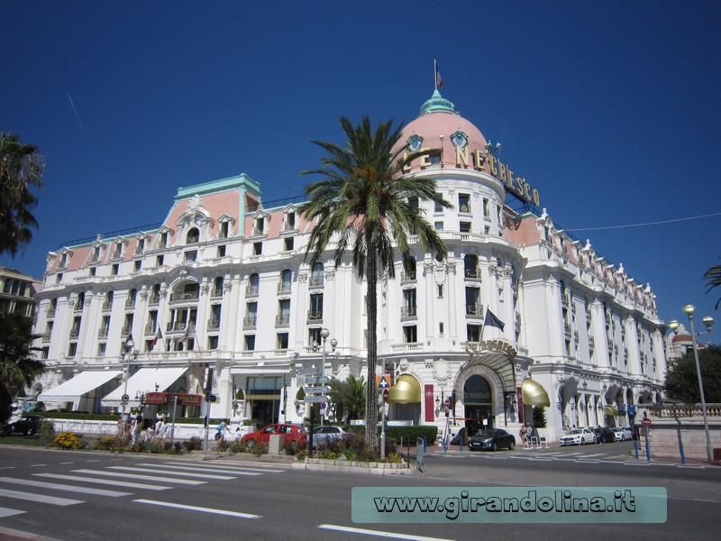 L'Hotel Negresco di Nizza