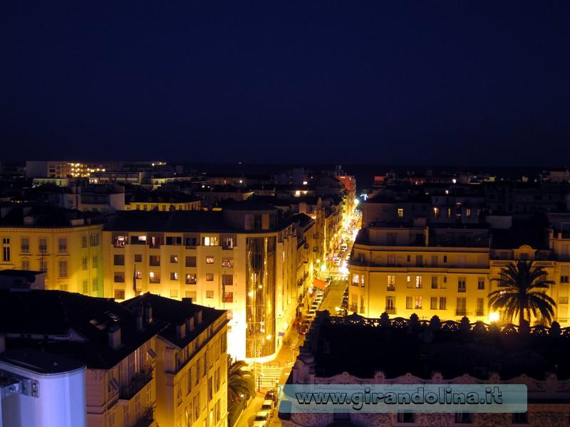 Il panorama dall' Hotel LEssenCiel-Terrace