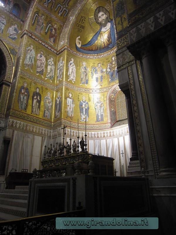 Il Duomo di Monreale interno