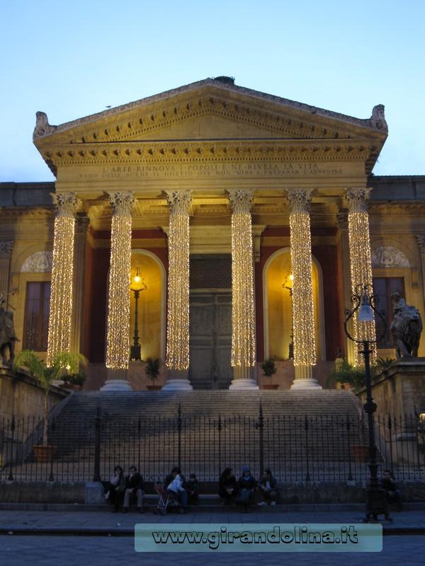 Il Teatro Massimo a Palermo