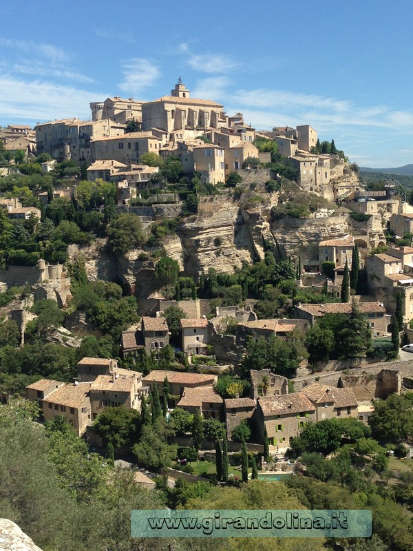 Il Villaggio di Gordes, vista dal punto panoramico