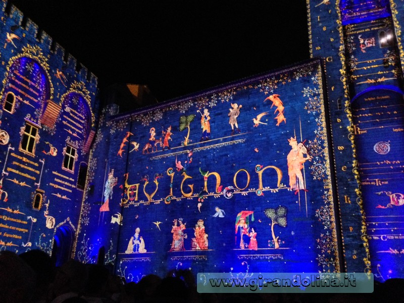 Spettacolo Les Luminessences d' Avignon