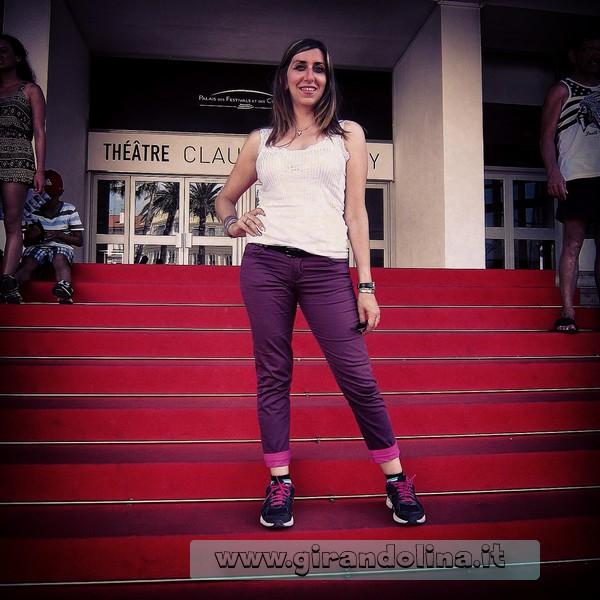 La famosa scalinata del Palazzo dei Congressi e del Festival