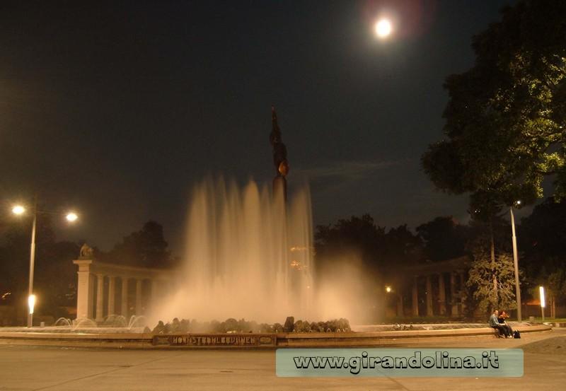 Fontana di Hochstrahlbrunnen