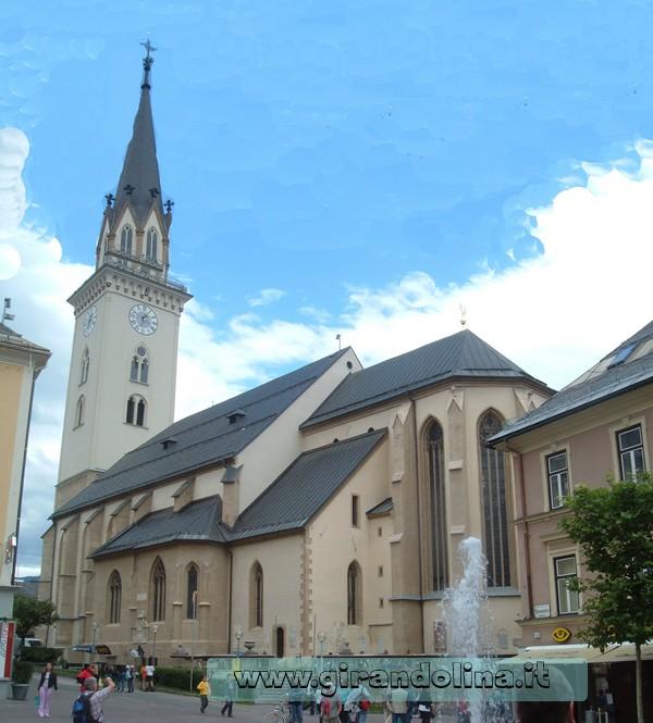 Chiesa parrocchiale St Jacob -Villach
