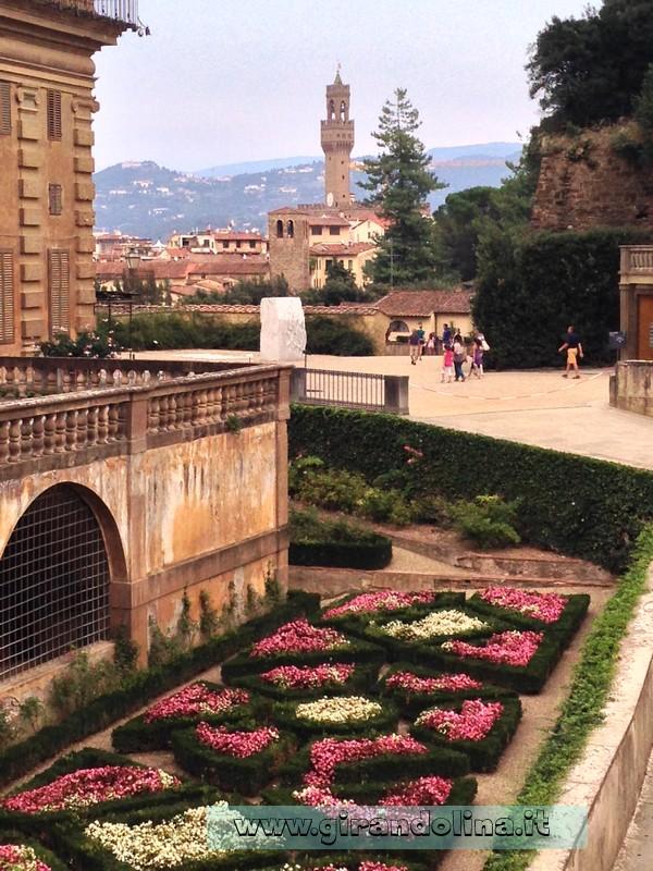Firenze guida della citt palazzo pitti e i giardini di boboli - I giardini di palazzo rucellai ...