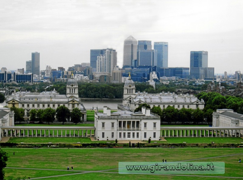 Old Royal Naval College di Greenwich