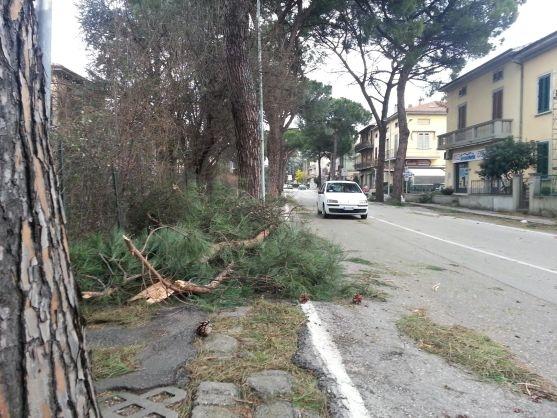 Le strade di Pistoia ( Photo credits Il tirreno geolocal)