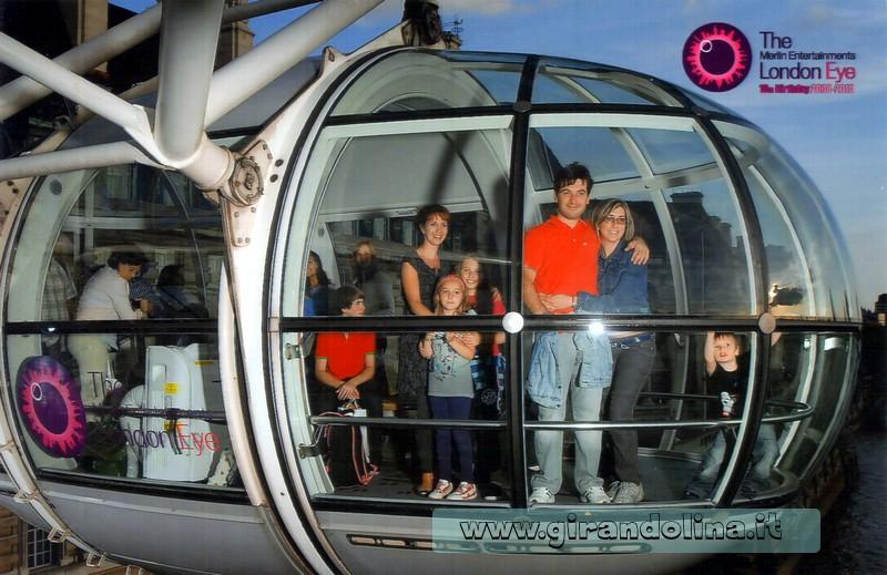 Il nostro giro sulla London Eye