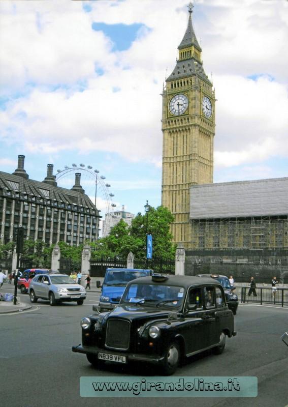 Il Big Ben e il Palazzo di Westminster
