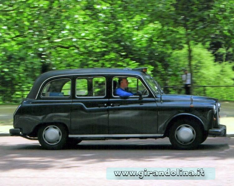 I Black Cabs, i Taxi londinesi