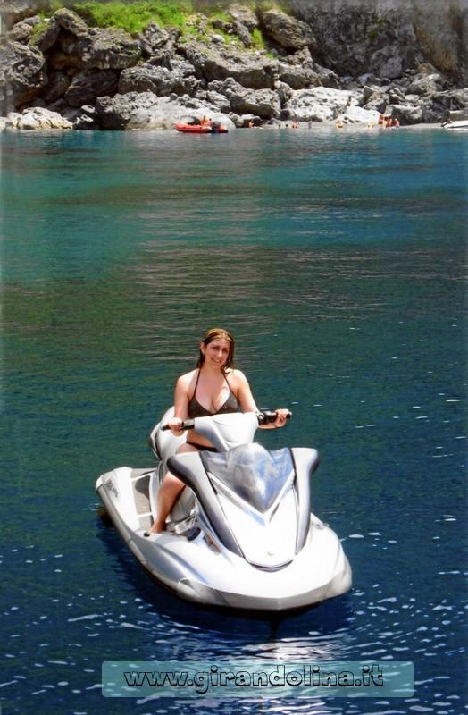 La nostra moto d' acqua